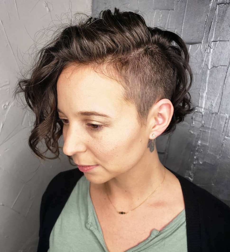 If you have an undercut on the left, try a deep side. 50 Best Haircuts And Hairstyles For Short Curly Hair In 2021 Hair Adviser