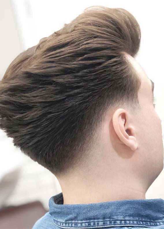 A gallery of men sporting different looks before and after a haircut, from fauxhawk to burr to shag to crew. Best Undercut Short Hairstyles For Men Guys In 2019 Stylezco