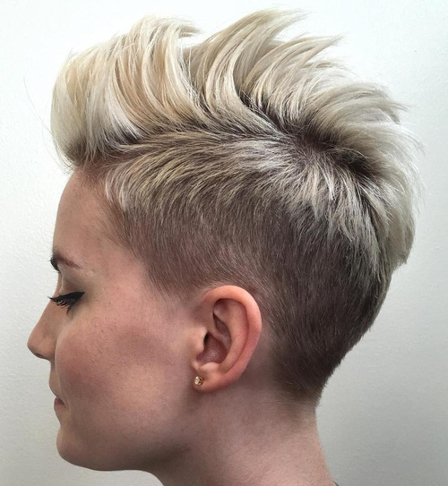 Ginnifer goodwin opted for a less romantic cut with her. 50 Women S Undercut Hairstyles To Make A Real Statement