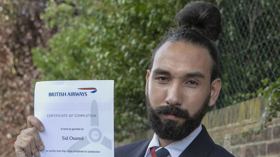 This will serve the purpose of getting a distinctive black man bun to show off the style. Man Bun Hairstyle Gets British Airways Worker The Sack Bbc News