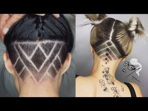 22/10/2020· cute and rebellious half shaved head hairstyle for girls. Slicked Back Undercut Hairstyle Guide For Women In 2018 Youtube