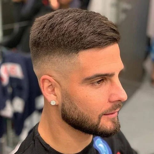 The haircut works well with a medium fade on the sides, creating a smooth transition for your hair and really making your fringe pop! Haircut Names For Men Types Of Haircuts 2021 Guide