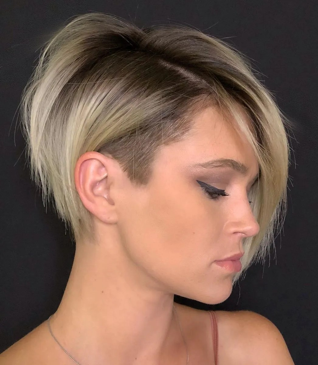 If you want to see most beutiful bob hairdos' examples, you should check these images. 50 Badass Undercut Bob Ideas You Can T Say No To Hair Adviser