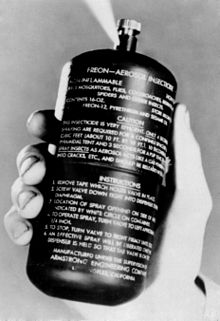 Vinyl chloride in hair spray, deodorants and other aerosol products was used as a propellant, an inert ingredient that does nothing to hold hair in place or. Aerosol Spray Wikipedia