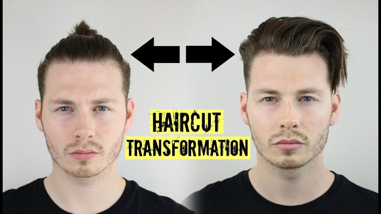 Therefore, a man bun might help you out of that tight spot. Mens Curly Hair Tutorial Top Knot To Slick Back 2021 Ad Youtube