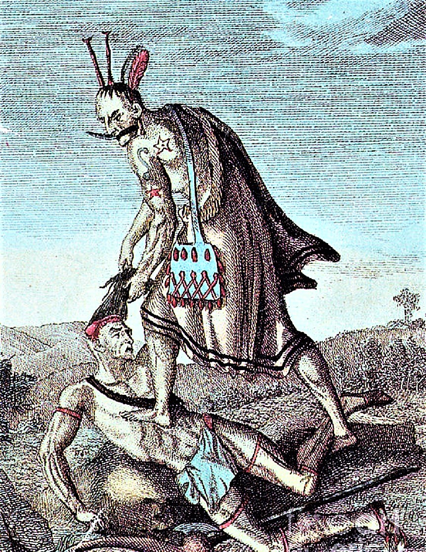 Verb some members of the tribe were scalped by the attacking warriors. Native Americans Scalping In The New World