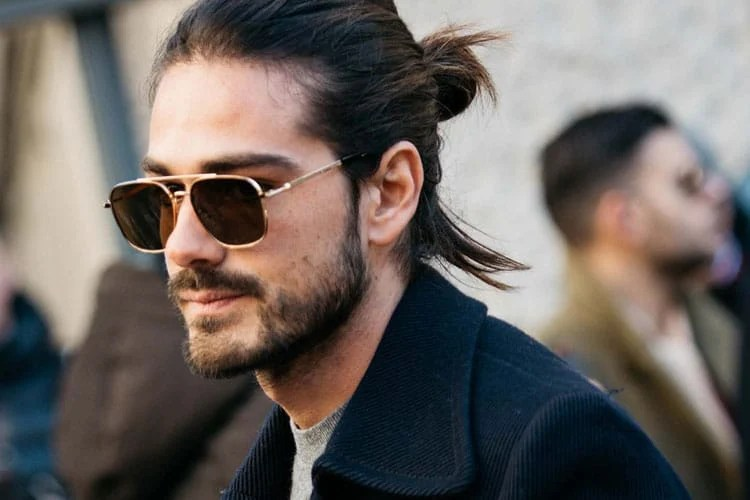 Man buns additionally in some cases show up with an undercut, where hair is left long on top however shaved tight on the back and sides. 35 Best Man Bun Hairstyles 2021 Guide