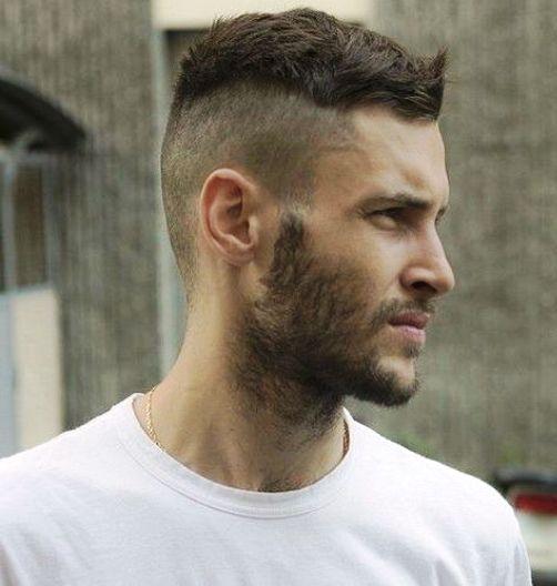 The undercut is a hairstyle that was fashionable from the 1910s to the 1940s, predominantly among men, and saw a steadily growing revival in the 1980s. Short Undercut Hairstyles Men Mens Hairstyles Undercut Short Hair Undercut Undercut Hairstyles