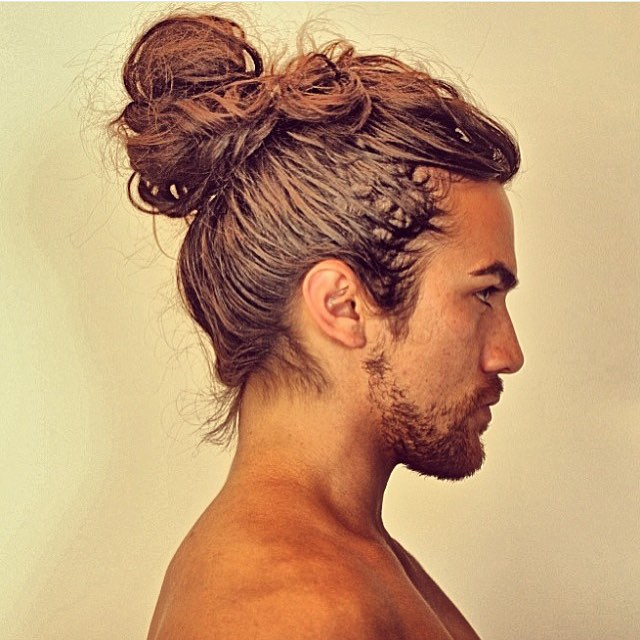 Plus, you'll finally get to feel the cool breeze on the sides of your head after all that time. 70 Best Man Bun Hairstyle And Top Knot Cuts How To Grow And Style Atoz Hairstyles
