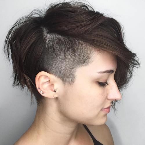 Undercut women hair styles are super daring, and that is why not every babe. 20 Awe Inspiring Undercut Pixie Cuts For 2021