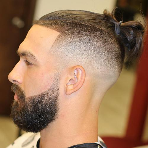 It is a style created by gathering the hair in different ways in the crown area. 25 Sexy Man Bun Styles You Need To Know