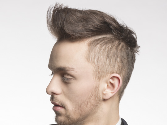 The fade adds a masculine touch, as does the full beard. The Essential Guide To Men S Undercut Hairstyle By Gatsby