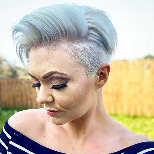 What are these desirable and different undercut short haircuts and hairstyles which are more preferred by ladies? 20 Beautiful Short Undercut Hairstyles For Women Short Haircut Com