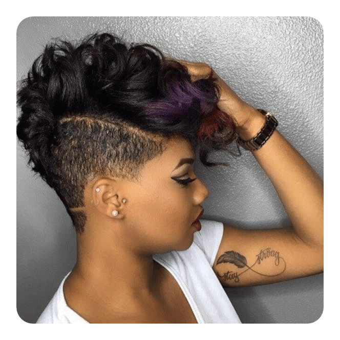 See more ideas about hairstyle, curly undercut, curly hair styles. 64 Undercut Hairstyles For Women That Really Stand Out
