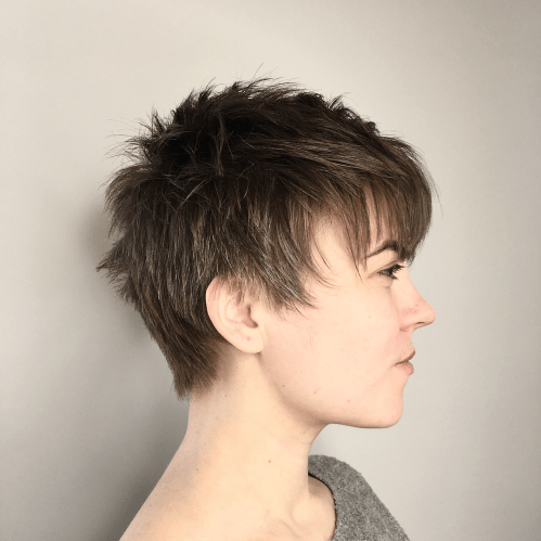 These hair pros and youtubers share simple tricks for cutting bangs, layers, short bobs, and more. 60 Cute Short Pixie Haircuts Femininity And Practicality