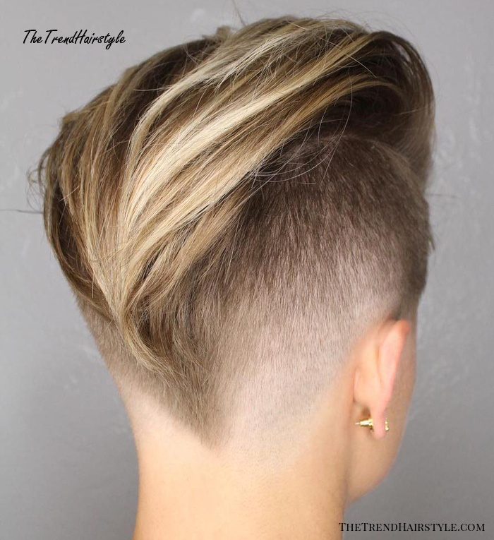 A collection of undercut hairstyles for short and pixie haircuts 2021. Feminine Pixie Cut With Asymmetrical Undercut 20 Inspiring Pixie Undercut Hairstyles The Trending Hairstyle
