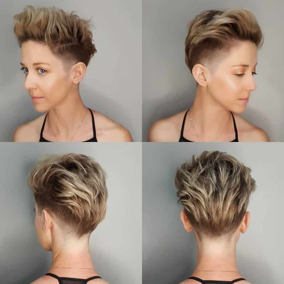 But while the big change may be scary, there are a lot of stunning s. Ladies Short Undercut Hairstyles 2020 In 2020 Short Hairstyles For Women Short Shaved Hairstyles Undercut Hairstyles