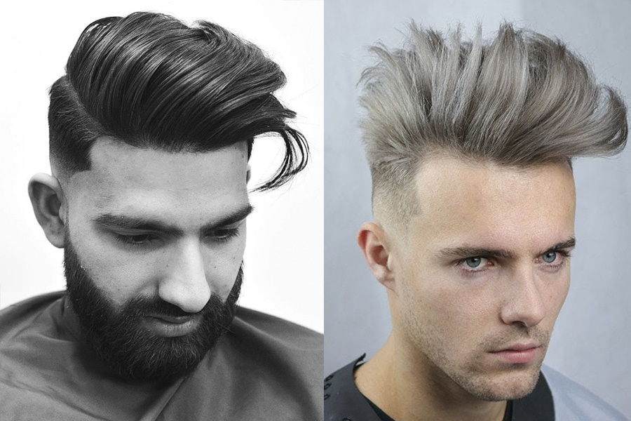 Today, the modern pompadour no longer resembles the retro … Medium Length Haircuts Hairstyles For Men Man Of Many