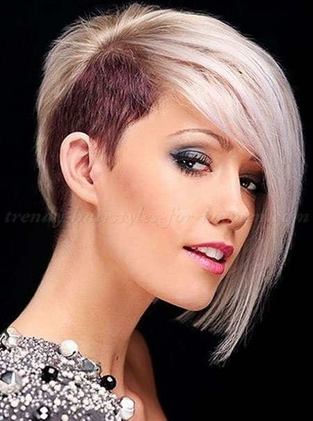This long side swept blonde is perfect for fine hair. 8 Undercut Bob Haircut Pictures Bob Haircut And Hairstyle Ideas