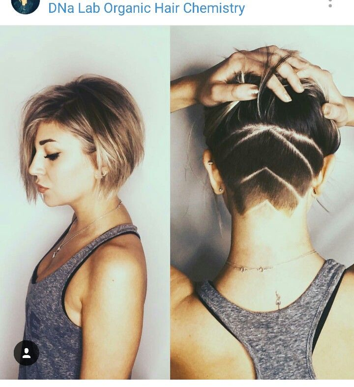 Some of these hairstyles may be a little bit over the top (like the mohawk), but men accept accurate to be able of affairs them off. Undercut Bob Hair Inspiration Short Hair Styles Short Hair Styles