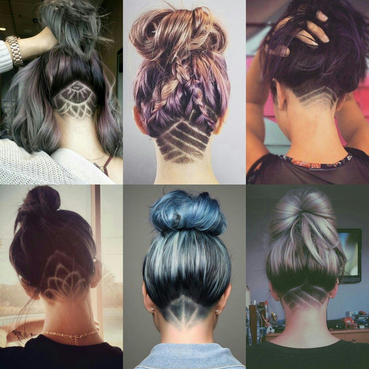 If your hair is fairly long in the back, it can be difficult to take all of the necessary hair for the undercut off with your clippers. These Look Amazing Until It Starts To Grow Back Shaved Hair Shaved Hair Designs Hair Styles
