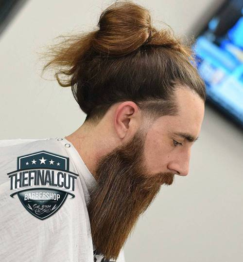 The origins of the trendy man bun hairstyle are hazy, but mostly hipsters can be credited for its rise. 25 Sexy Man Bun Styles You Need To Know