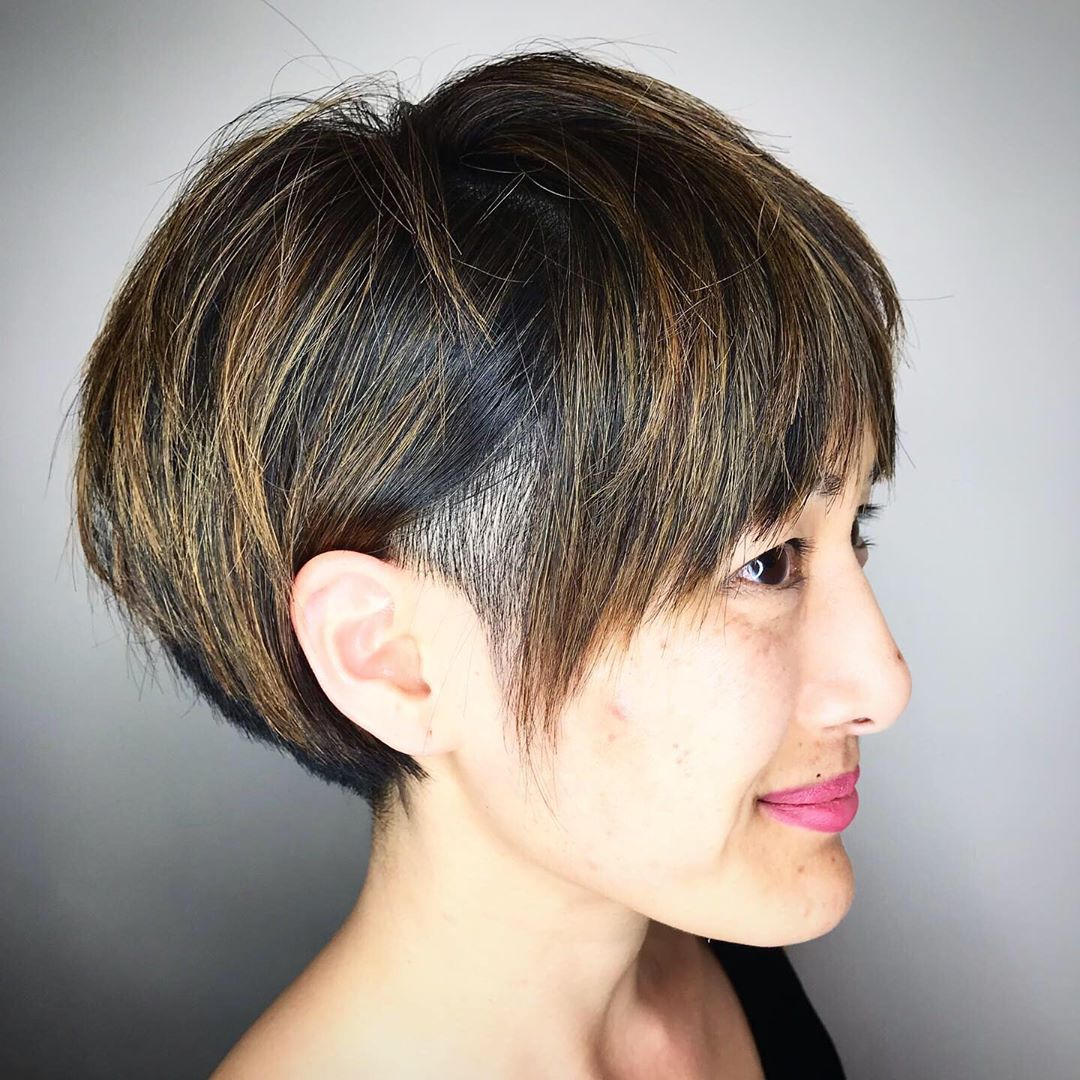 The abstraction of chopping off about all of your beard can be terrifying. 50 Badass Undercut Bob Ideas You Can T Say No To Hair Adviser