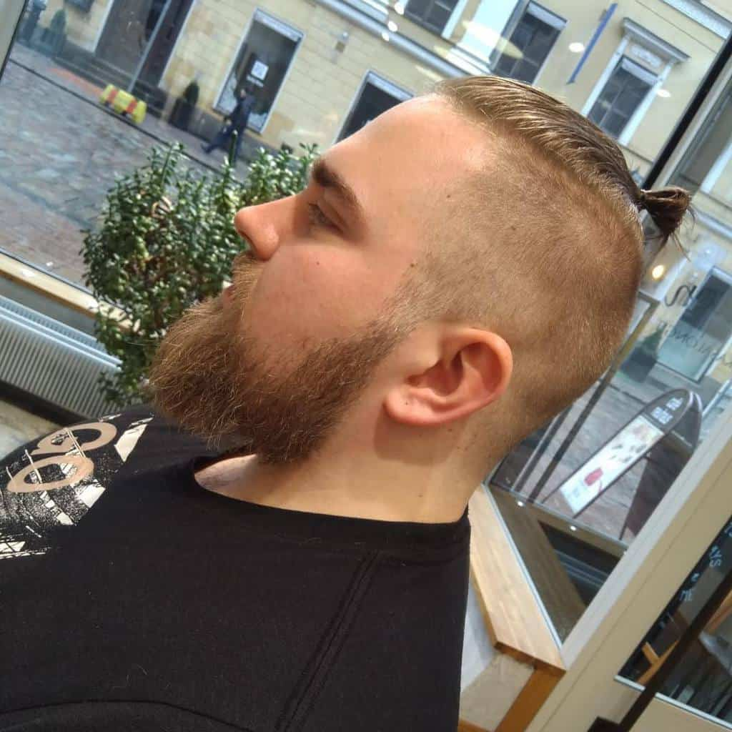 A trimmed, shapely beard goes well with. 22 Best Man Bun Undercut Hairstyles In 2021