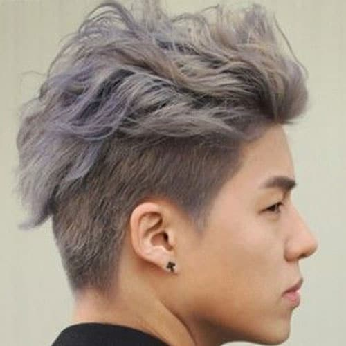Undercut in chinese (s) '3nd2k3t n.牛腰部下侧嫩肉,砍口vt.廉价出售 dictionary source: Undercut Hairstyle In Chinese Nice
