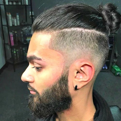 First, the man bun is created by pulling back the longer hair on. 35 Best Man Bun Hairstyles 2021 Guide