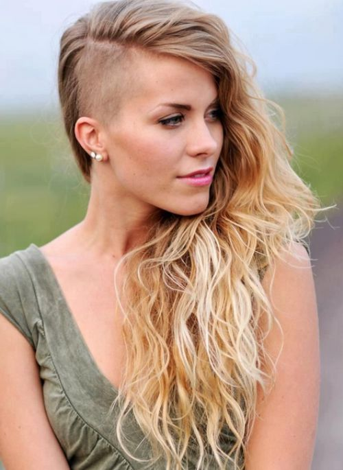 Cut the major length off. 21 Most Coolest And Boldest Undercut Hairstyles For Women Hottest Haircuts