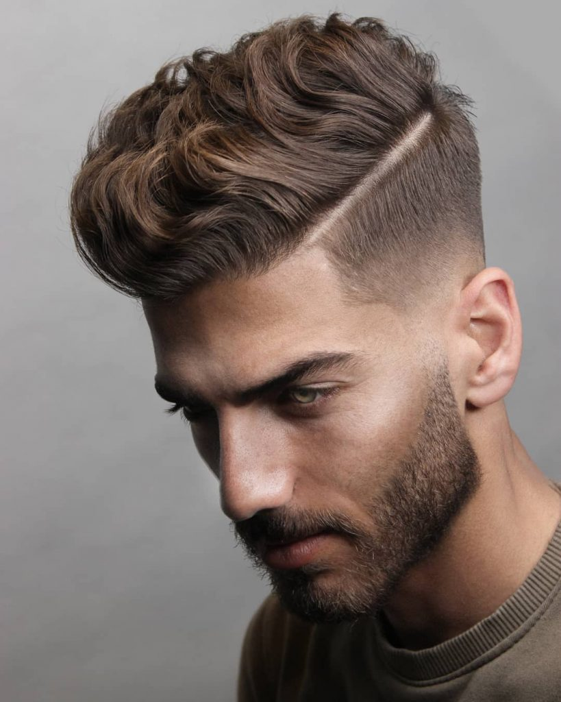 A nice taper, fade or undercut compliments just about any short hairstyle on top and will serve you well. 50 Original Short On Sides Long On Top Men Haircuts Man Haircuts