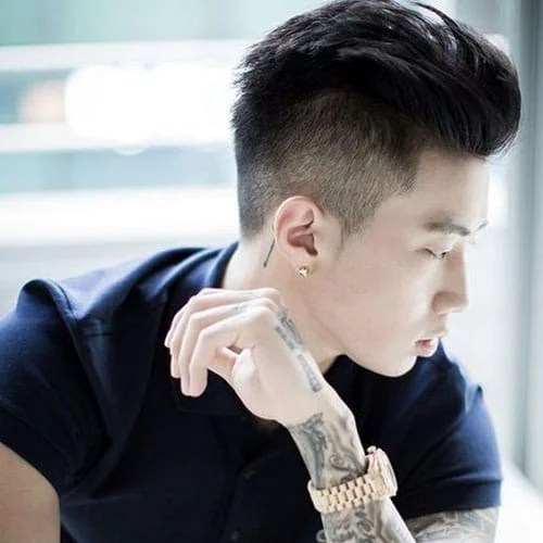 | meaning, pronunciation, translations and examples Undercut Hairstyle In Chinese Nice