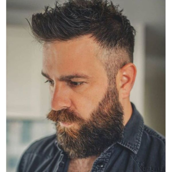 Request an undercut and make sure to pay monthly visits to the. 100 Unique Viking Hairstyles For Your Inner Warrior Man Haircuts