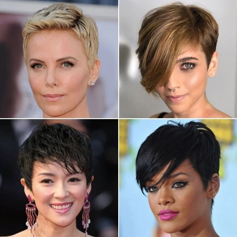 Sides and back are cut very close, and little to no styling is needed—but a. 65 Cute Pixie Cut Haircuts For Women 2021 Styles