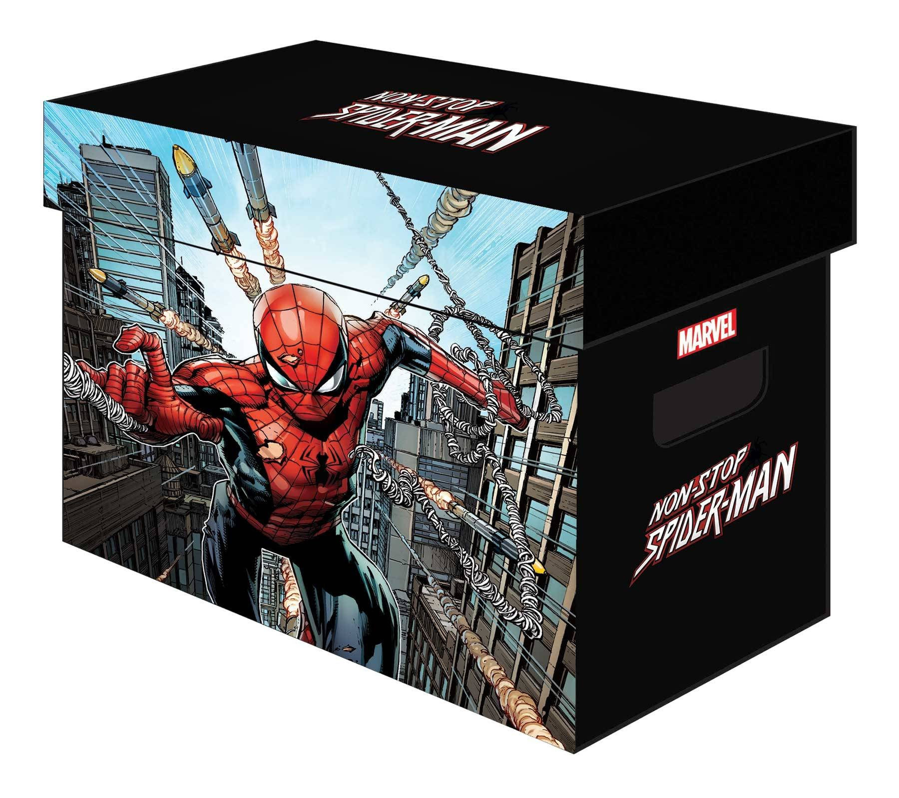 Custom hand made box cases for your nes, snes, as well as some n64, gameboy/color/advance games. Mar201128 Marvel Graphic Comic Boxes Non Stop Spider Man Bundle Of 5 Previews World