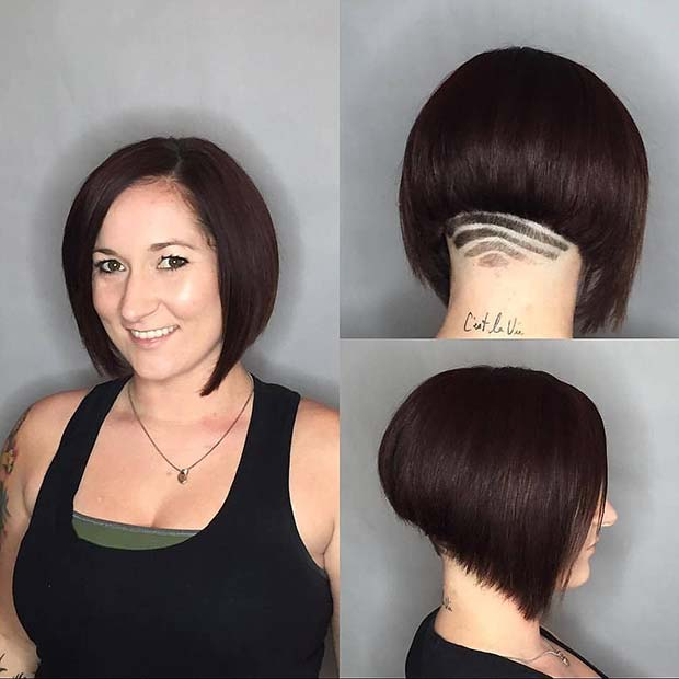 28/12/2018· short inverted bob is a great choice for women who want their hair trimmed. 43 Bold And Beautiful Undercut Bob Haircuts Page 2 Of 4 Stayglam