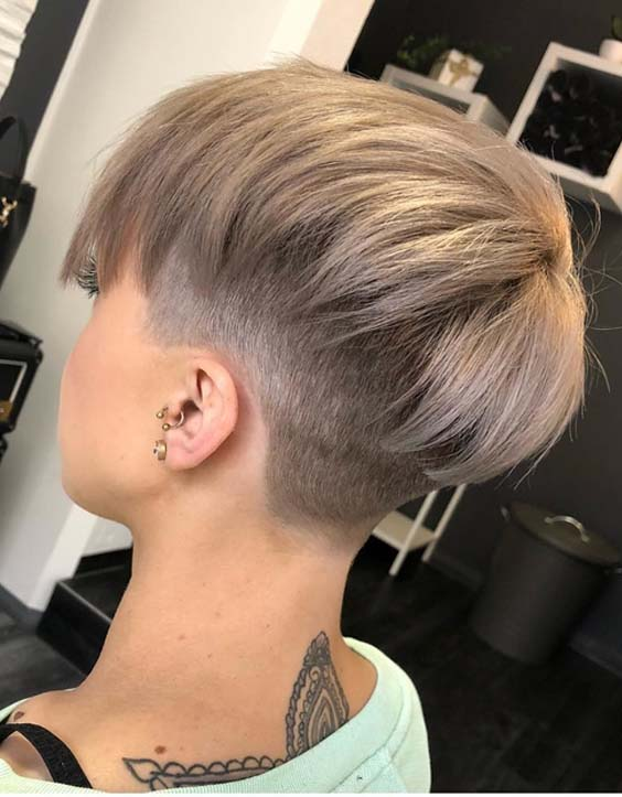 What are these desirable and different undercut short haircuts and hairstyles which are more preferred by ladies? Unique Short Buzz Undercut Pixie Hairstyles For Women 2019 Primemod