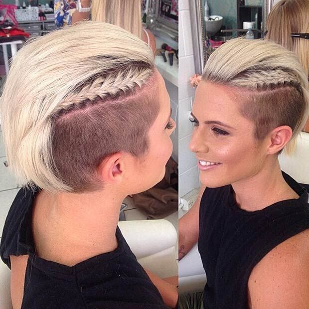 Looking to cut a few inches off your hair? 29 Awesome Undercut Hairstyles For Girls Pretty Designs
