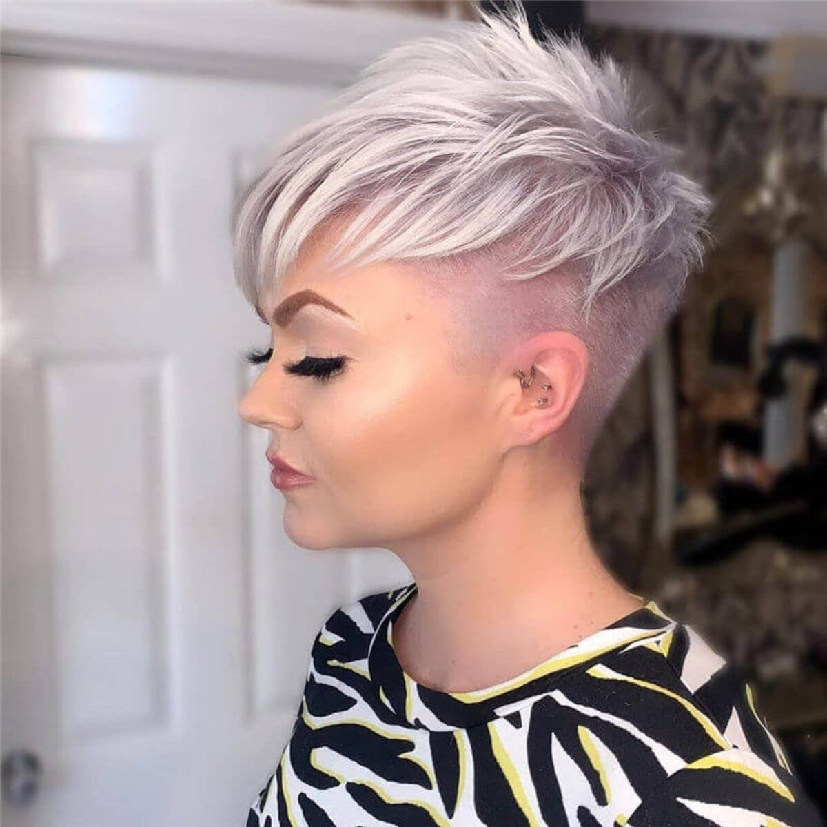Women's health may earn commission from the links on this page, but we only feature products we believe in. Short Pixie Haircuts For Fine Hair 25