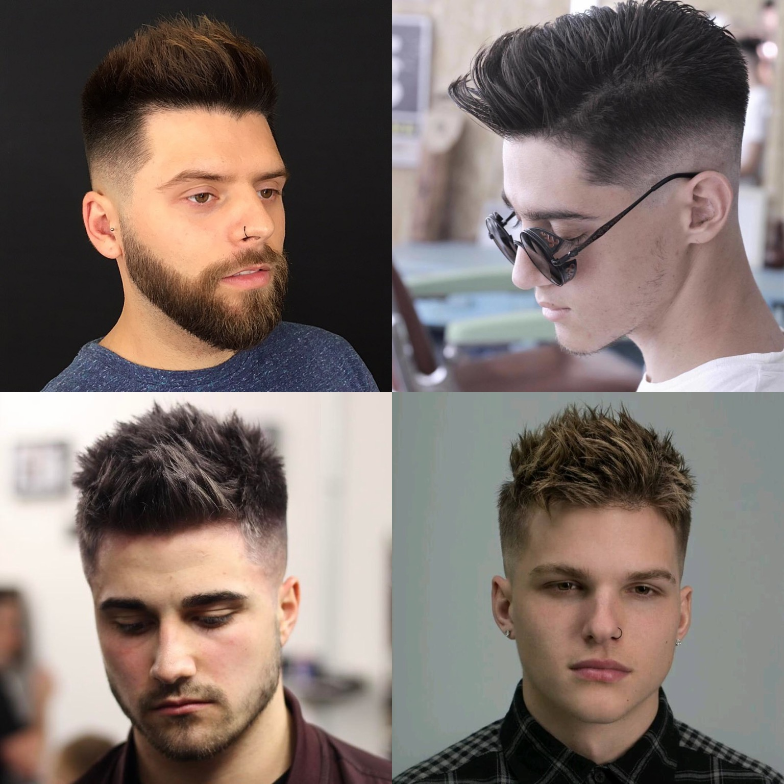 The men's undercut haircut with shaved back and sides can be aggressive looking but also chic. How To Style Spiky Hair Tips For Achieving Cool Textured Spikes Men S Hairstyles