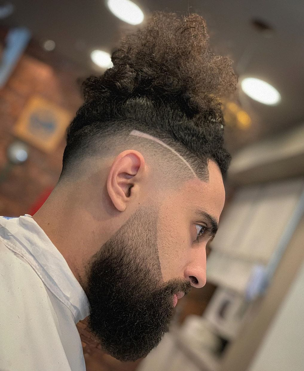 If you have an undercut on the left, try a deep side. 50 Modern Men S Hairstyles For Curly Hair That Will Change Your Look