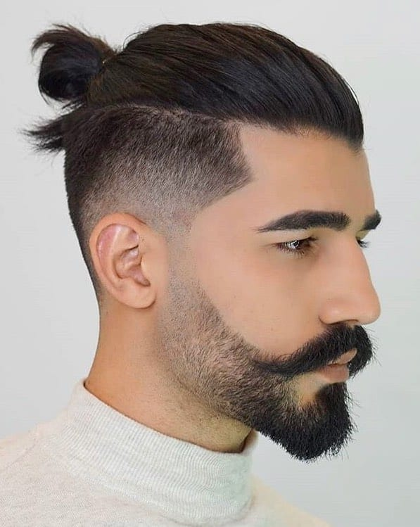2/11/2018· the man bun undercut is one of the exclusive hot hairstyles for men with relatively long hair, it doesn't use the hair from sides and back of the bun, thus it uses … 7 Types Of Man Bun Hairstyles Gallery How To
