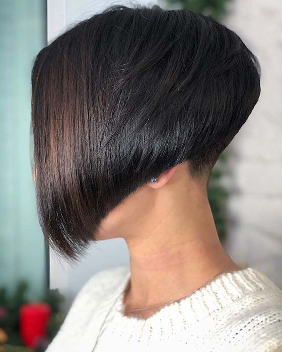 But don't let the bob aroma your fear, because it's aloof actuality to help. 43 Bold And Beautiful Undercut Bob Haircuts Page 4 Of 4 Stayglam