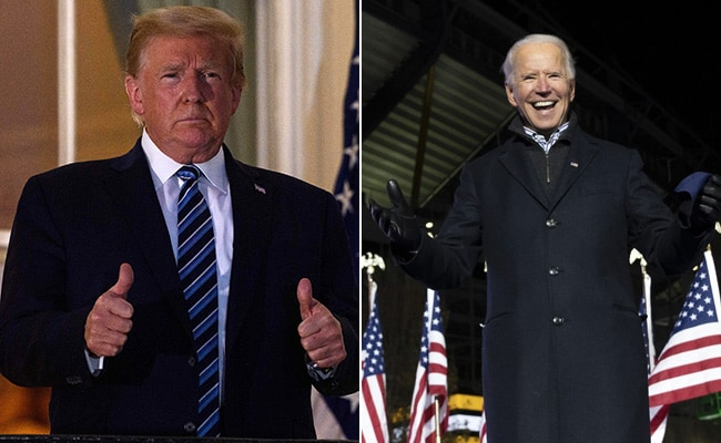Presidential candidate vice presidential candidate political party popular vote electoral vote; Us Election Results 2020 Live Updates Joe Biden Inches Towards White House With Wisconsin Michigan Wins