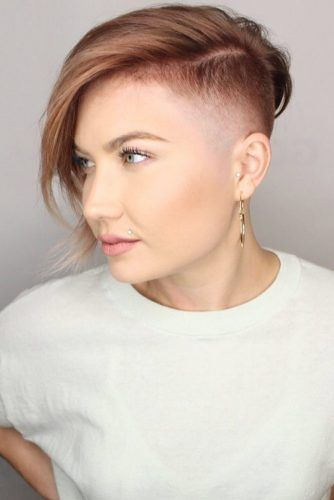 Nowadays, men accept the befalling to accept from an arrangement of amazingly beauteous hairstyles. 30 Best Short Hairstyles For Round Faces To Emphasize Your Beauty Undercut Hairstyles Short Hair Undercut Short Hair Styles For Round Faces