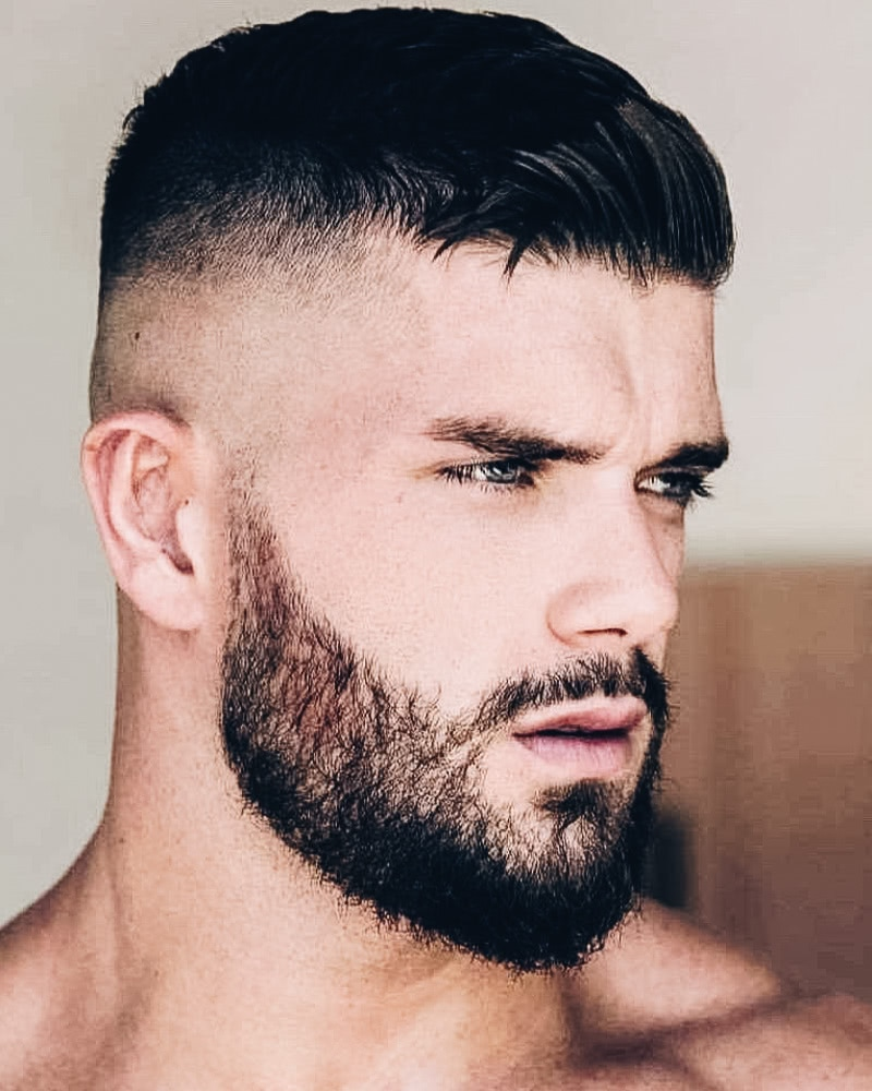 A gallery of men sporting different looks before and after a haircut, from fauxhawk to burr to shag to crew. 50 Best Short Haircuts Men S Short Hairstyles Guide With Photos 2021