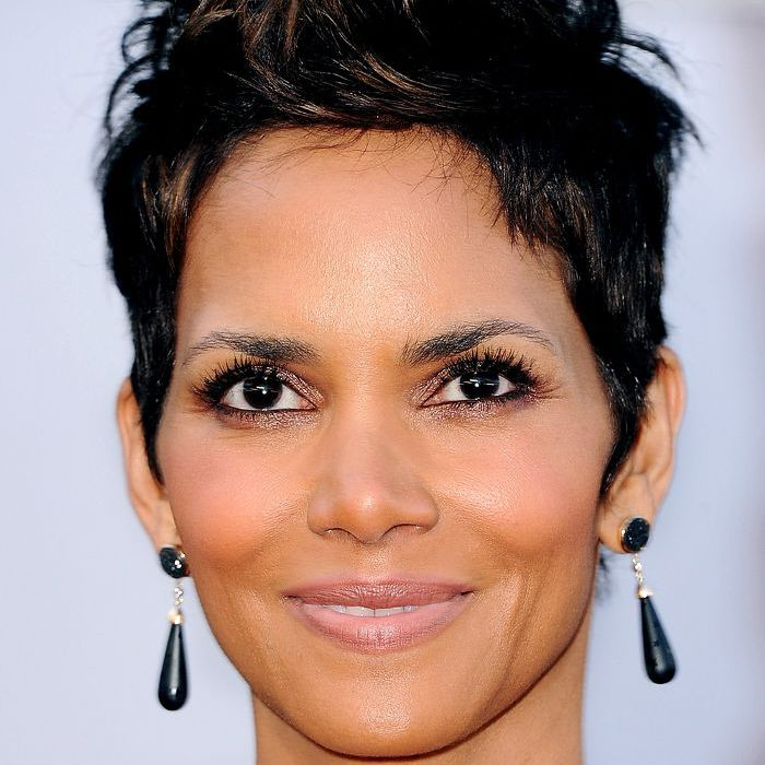 Thick and textured pixie cut; 30 Celeb Inspired Pixie Cuts For Thick Hair