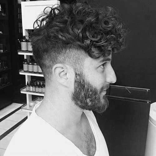 See more ideas about hairstyle, curly undercut, curly hair styles. 20 Curly Undercut Haircuts For Men Cuts With Coils And Kinks