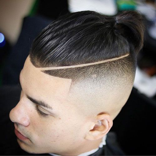Locate the centermost of the fatigued band and … 21 Shape Up Haircut Styles Men S Hairstyles Today Man Bun Hairstyles Long Hair Styles Men Man Bun Haircut